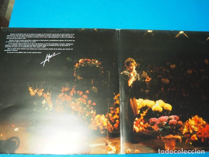 Discos de vinilo: LP Vinilo Massiel en Des..concierto (1985). Disco doble - Foto 3 - 154684418