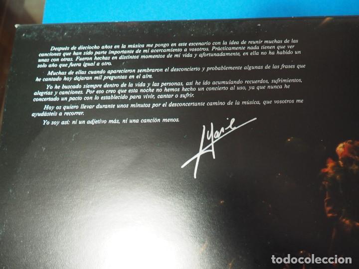 Discos de vinilo: LP Vinilo Massiel en Des..concierto (1985). Disco doble - Foto 4 - 154684418