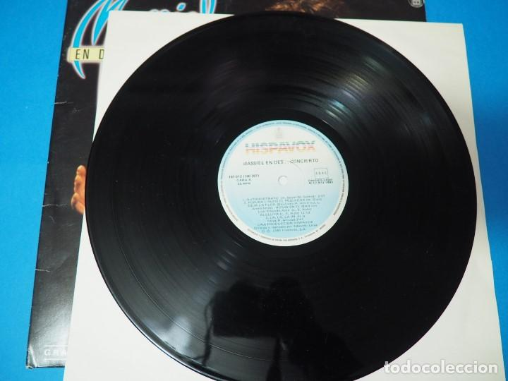 Discos de vinilo: LP Vinilo Massiel en Des..concierto (1985). Disco doble - Foto 5 - 154684418