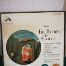 Discos de vinilo: EL BARBERO DE SEVILLA. Lote 154691693