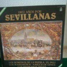Discos de vinilo: DISCOS DE SEVILLANAS. Lote 154693214