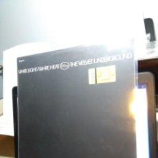 Discos de vinilo: LP THE VELVET UNDERGROUND : WHITE LIGHT/WHITE HEAT ( CON 3 TEMAS EXTRA, PRECINTADO ). Lote 154698426