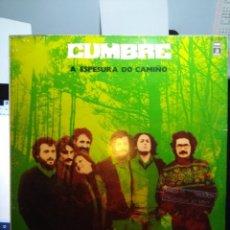 Discos de vinilo: LP CUMBRE : A ESPESURA DO CAMIÑO ( GALICIA FOLK ROCK ). Lote 154700618