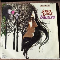 Discos de vinilo: LP JOAN BAEZ, BAUTIZO. Lote 154700670