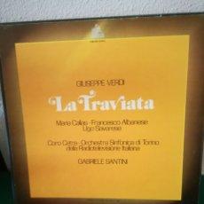 Discos de vinilo: LA TRAVIATA. Lote 154711573