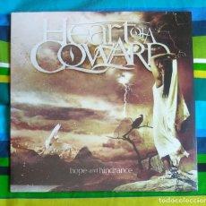 Discos de vinilo: HEART OF A COWARD - HOPE AND HINDRANCE 12'' LP PRECINTADO - METALCORE GROOVE METAL. Lote 154720314
