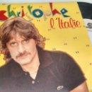 Discos de vinilo: SINGLE (VINILO) DE CHRISTOPHE AÑOS 80. Lote 154743114
