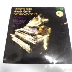 Discos de vinilo: LP. STARLIGHT PIANO. ANDRE PREVIN AND HIS ORCHESTRA. 1967. CBS. Lote 154745302