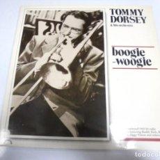 Discos de vinilo: LP. TOMMY DORSEY & HIS ORCHESTRA. BOOGIE - WOOGIE. 1989. GREEN LINE. Lote 154748302