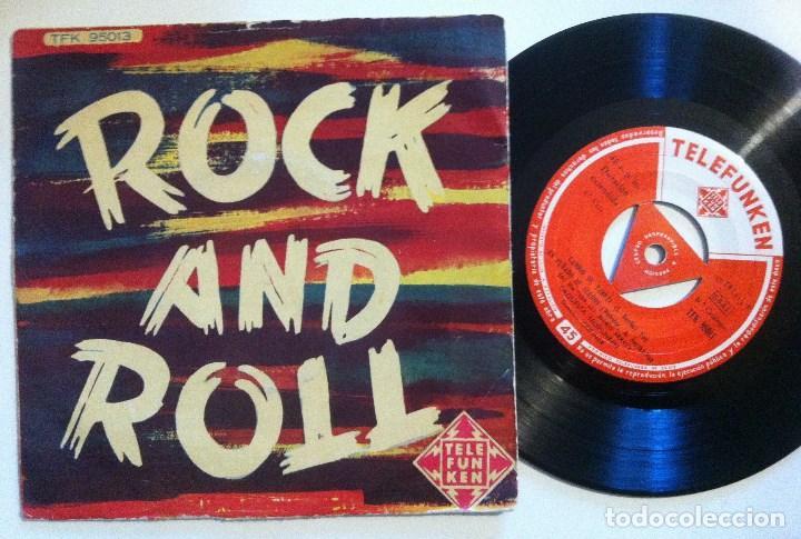 ORQUESTA TELEFUNKEN - ROCK AND ROLL - EP 1958 - TELEFUNKEN (Música - Discos de Vinilo - EPs - Orquestas)