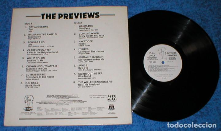 Discos de vinilo: DJ MEMBERS ONLY LP JUNE 86 PREVIEWS CROWN HEIGHTS AFFAIR SWING OUT SISTER JANICE JERMAINE JACKSON - Foto 2 - 154758510