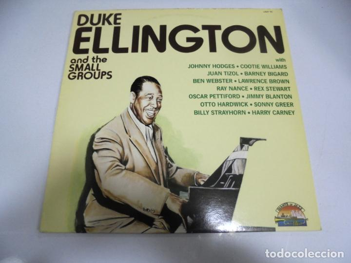 LP. DUKE ELLINGTON AND THE SMALL GROUPS. 1987. SARABANDAS (Música - Discos - LP Vinilo - Otros estilos)