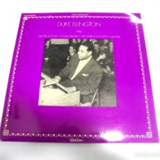 Discos de vinilo: LP. DOBLE. DUKE ELLINGTON 1940. LIVE FROM THE CRYSTAL BALLROOM, FARGO, NORTH DAKOTA.. Lote 154759394