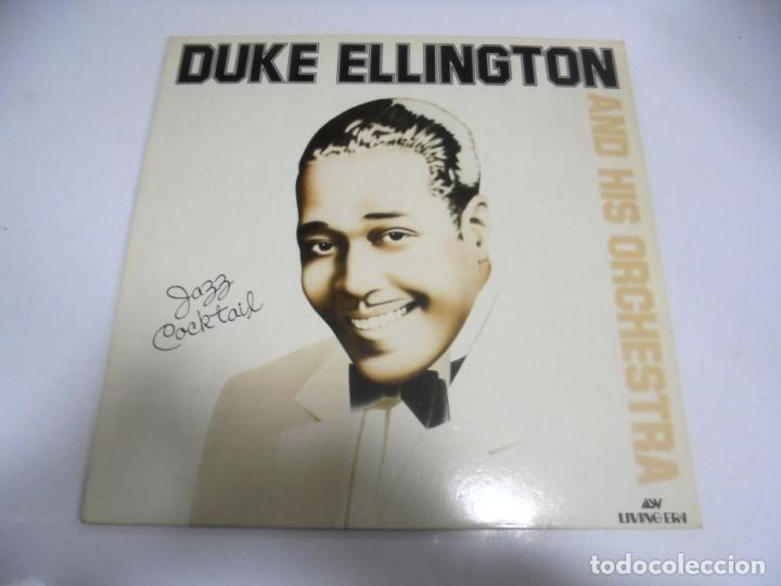 LP. DUKE ELLINGTON AND HIS ORCHESTRA. JAZZ COCKTAIL. 1983. (Música - Discos - LP Vinilo - Otros estilos)
