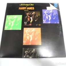 Discos de vinilo: LP. DOBLE. AN EVENING OF JAZZ WITH HARRY JAMES & HIS ORCHESTRA. POLYDOR. Lote 154760546