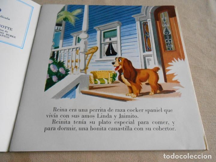 Discos de vinilo: WALT DISNEY - LA DAMA Y EL VAGABUNDO -, EP, CUENTO +1, AÑO 1969 - Foto 2 - 154761418