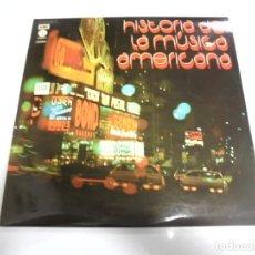 Discos de vinilo: LP. DOBLE. HISTORIA DE LA MUSICA AMERICANA. 1973. EMI CAPITOL. Lote 154766462