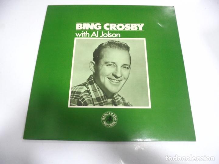 LP. BING CROSBY WITH AL JOLSON. 1983. PHONOCO (Música - Discos - LP Vinilo - Otros estilos)