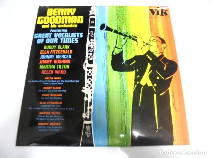 LP. BENNY GOODMAN & HIS ORCHESTRA. 1965. RCA (Música - Discos - LP Vinilo - Otros estilos)