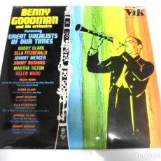 Discos de vinilo: LP. BENNY GOODMAN & HIS ORCHESTRA. 1965. RCA. Lote 154769666