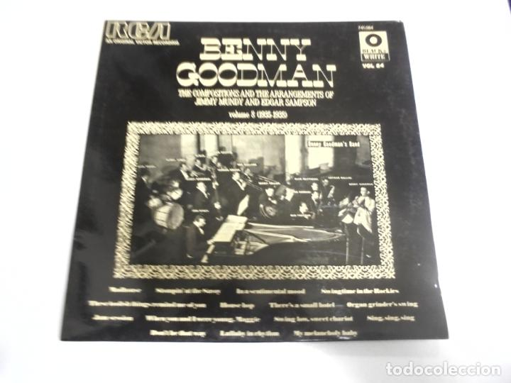 Discos de vinilo: LP. BLACK & WHITE VOL. 84. BENNY GOODMAN. VOLUME 8. RCA - Foto 1 - 154771446