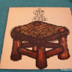 Discos de vinilo: LOTE LP EL CANTAR TIENE SENTIDO SELLO MOVIE 1976...SALIDA 1 EURO. Lote 154772930