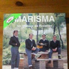 Discos de vinilo: MARISMA UN MANOJO DE ILUSIONES. Lote 154778312