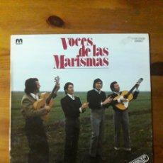 Discos de vinilo: VOCES DE LAS MARISMAS. Lote 207146773