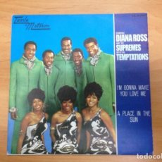 Discos de vinilo: SINGLE DIANA ROSS SUPREMES & TEMPTAIONS EDITADO EN ESPAÑA MOTOWN 1968. Lote 154779430