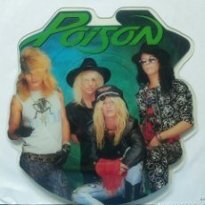 Discos de vinilo: POISON - EVERY ROSE HAS ITS THORN 1988 UK PICTURE DISC. Lote 154781474