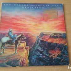 Discos de vinilo: LP MARSHALL TUCKED BAND DEDICATED USA 1981 PROMO. Lote 154782578
