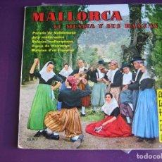 Discos de vinilo: MALLORCA SU MUSICA Y SUS GENTES EP BELTER + LIBRETO 1960 - JOTA MALLORQUINA - MATEIXA - CAPEO - FOTO. Lote 154787690
