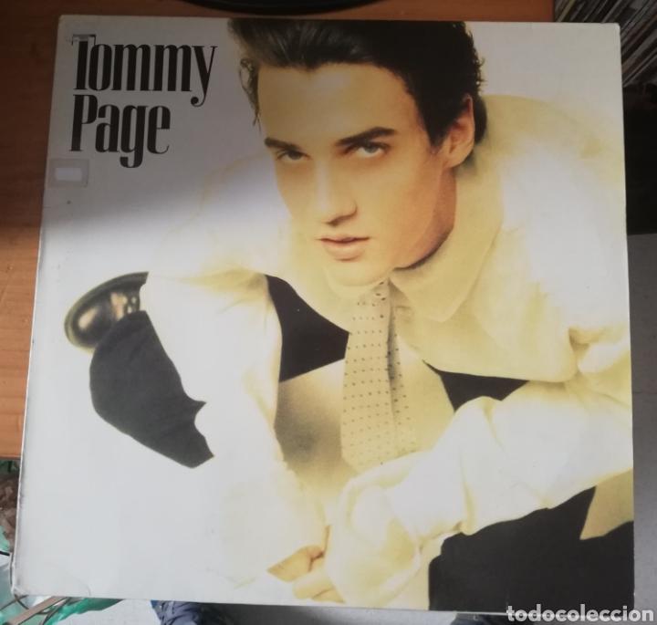 TOMMY PAGE - TOMMY PAGE (Música - Discos - LP Vinilo - Pop - Rock - New Wave Extranjero de los 80)