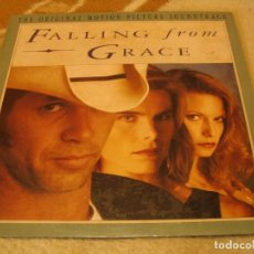 Discos de vinilo: FALLING FROM GRACE LP JOHN MELLENCAMP COUGAR LISA GERMANO LARRY ROLLINS ORIGINAL USA 1992. Lote 154806134