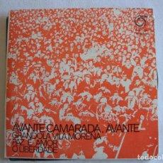 Discos de vinilo: VOZES LIVRES - AVANTE CAMARADA, AVANTE - EDITA RODA - 1974 - PORTUGAL - RAREZA. Lote 154815982