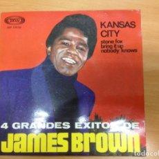 Discos de vinilo: EP JAMES BROWN 4 GRANDES EXITOS EDITDO EN ESPAÑA SONO PLAY 1967. Lote 154821954