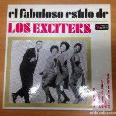 Discos de vinilo: EP LOS EXCITERS EL FABULOSO ESTILO DE EDITADO EN ESPAÑA HISPAVOX 1963. Lote 154822182