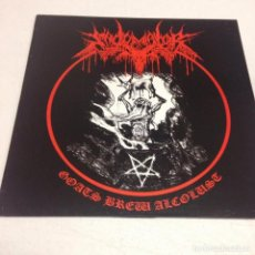 Discos de vinilo - Sadomator – Goats Brew Alcolust --black thrash edicion 2007 - 154829470