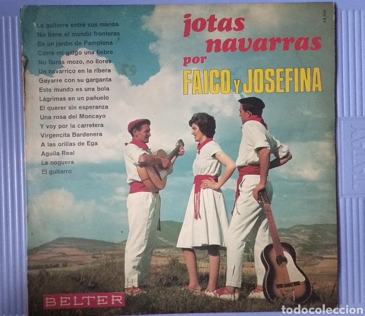 JOTAS NAVARRAS (Música - Discos - LP Vinilo - Grupos Españoles 50 y 60)