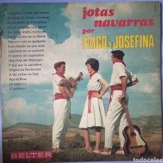 Discos de vinilo: JOTAS NAVARRAS. Lote 154830216