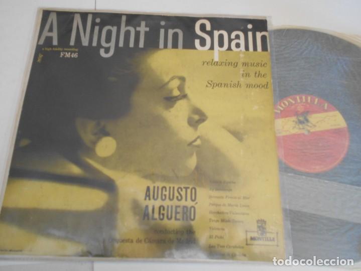 AUGUSTO ALGUERO-LP A NIGHT IN SPAIN-ESPAÑOL (Música - Discos - LP Vinilo - Orquestas)