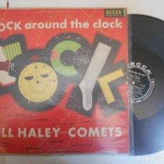 Discos de vinilo: BILL HALEY AND HIS COMETS-LP ROCK AROUND THE CLOCK-USA. Lote 154833894