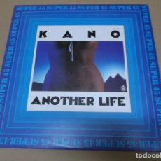 Discos de vinilo: KANO (MX) ANOTHER LIFE +1 TRACK AÑO 1983. Lote 154835878