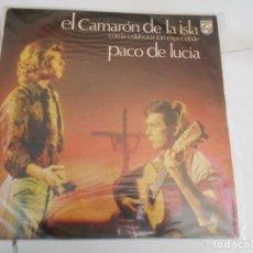 Discos de vinilo: CAMARON DE LA ISLA-LP 1970. Lote 154836058