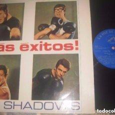 Discos de vinilo: THE SHADOWS MAS EXITOS (LA VOZ DE SU AMO-1966) OG ESPAÑA SIN SEÑALES DE USO. Lote 154842946