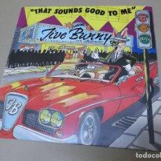 Discos de vinilo: JIVE BUNNY AND THE MASTERMIXERS (MX) THAT SOUNDS GOOD TO ME +1 TRACK AÑO 1990 – EDICION ALEMANIA. Lote 154846582