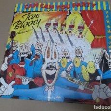 Discos de vinilo: JIVE BUNNY AND THE MASTERMIXERS (MX) CAN CAN YOU PARTY +1 TRACK AÑO 1990 – EDICION ALEMANIA. Lote 154847182