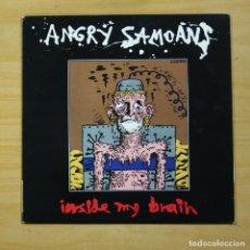 Disques de vinyle: ANGRY SAMOANS - INSIDE MY BRAIN - LP. Lote 154848050