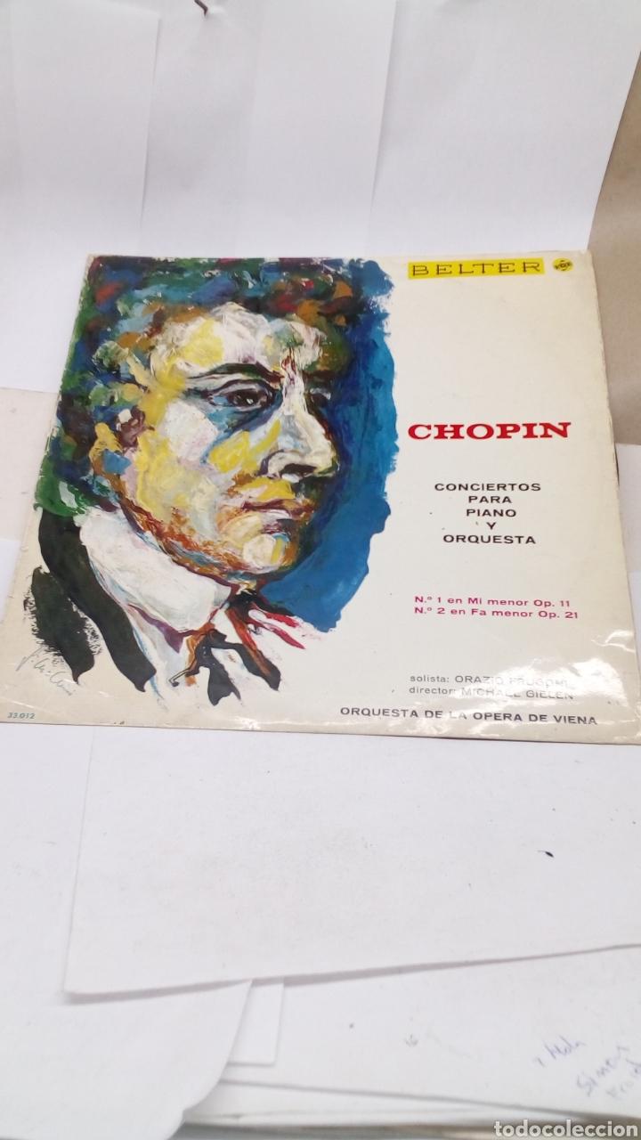 DISCO VINILO CHOPIN (Música - Discos - LP Vinilo - Clásica, Ópera, Zarzuela y Marchas)