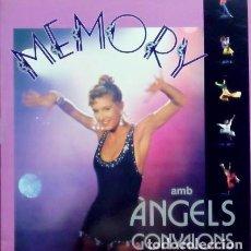Discos de vinilo: ÀNGELS GONYALONS – MEMORY - LP SPAIN 1992 + ENCARTE CON LETRAS. Lote 154852878